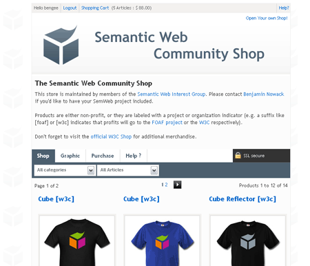 semantic web community shop